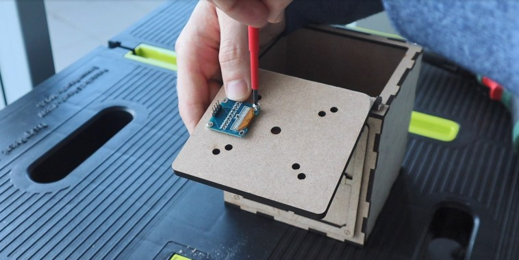 Install The Electronic Components