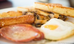 Order your brunch on Saturdays, pay for it in the Green Deli next door, then come get a mug of tea or coffee in The Dock Cafe and they'll bring your food to you - just pop a donation in the honesty box to cover your drinks.