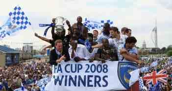 2008 - Pompey gewinnt der FA-Cup