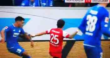 Hoffenheim vs F95 - Rot gegen Blau