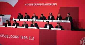F95-Jahremitgliederversammlung 2019: Das Präsidium