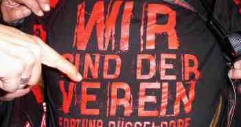 Lieblings-Fortuna-T-Shirt 2004: Wir sind der Verein!