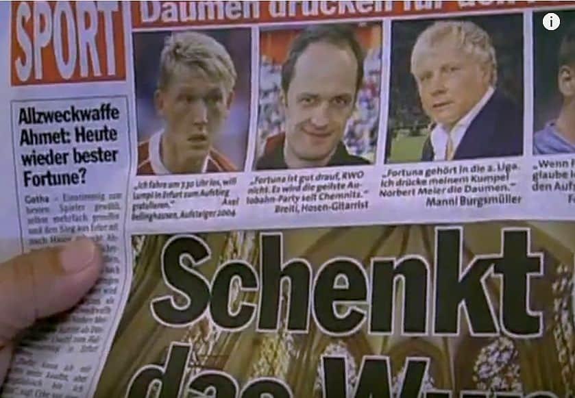 31.5.2008: Spiel um den Aufstieg in die 2. Liga in Erfurt