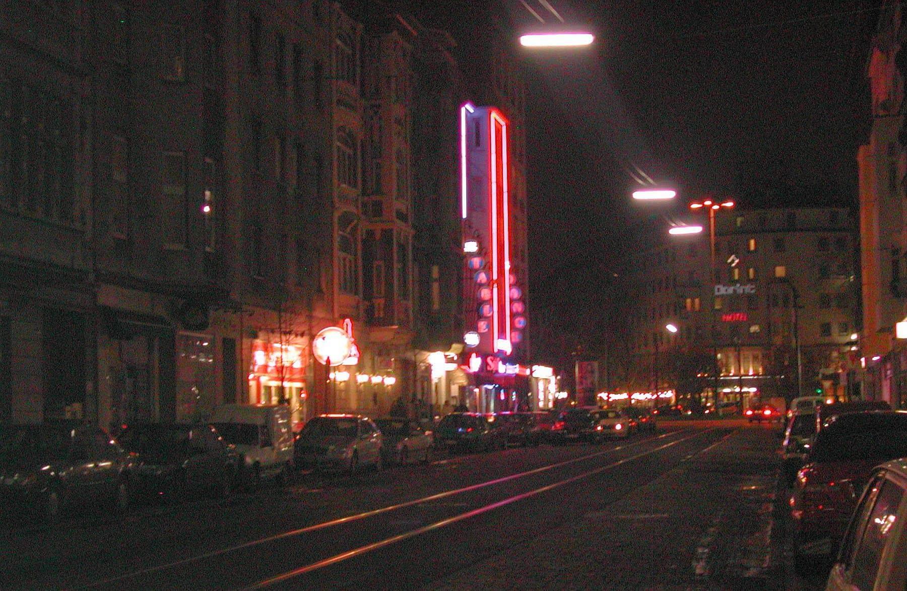 Mintropstraße nachts (2004)