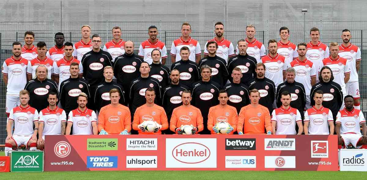 Das waren noch Zeiten: Der große Kader der Saison 2019/20 (Foto: F95)