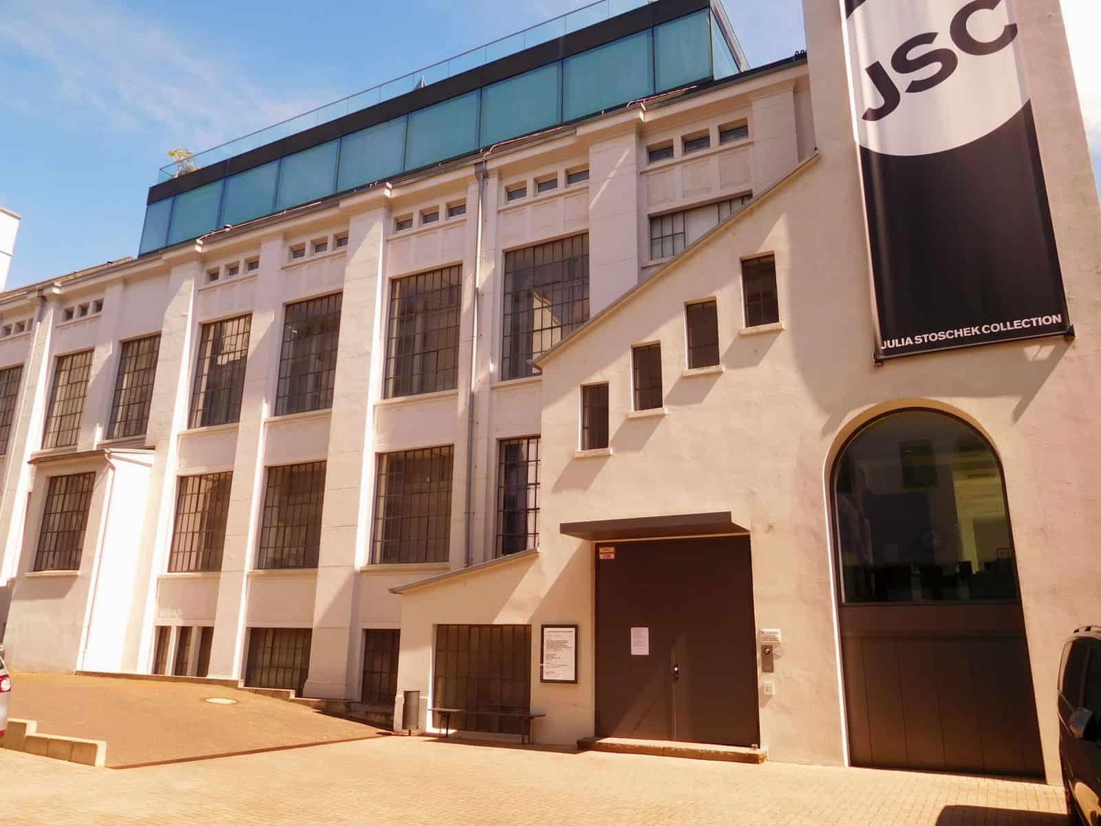 Das JSC-Gebäude an der Schanzenstraße in Oberkassel (eigenes Foto)