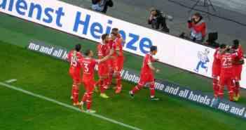 F95 vs Hannover: Maximales Feiern nach Shintas Siegtor (Foto: TD)