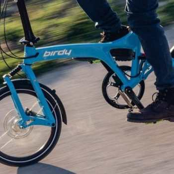 We welcome the 'Birdy' folding bike to our flock