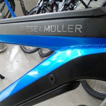 The Riese & Muller Supercharger long distance electric bike has arrived