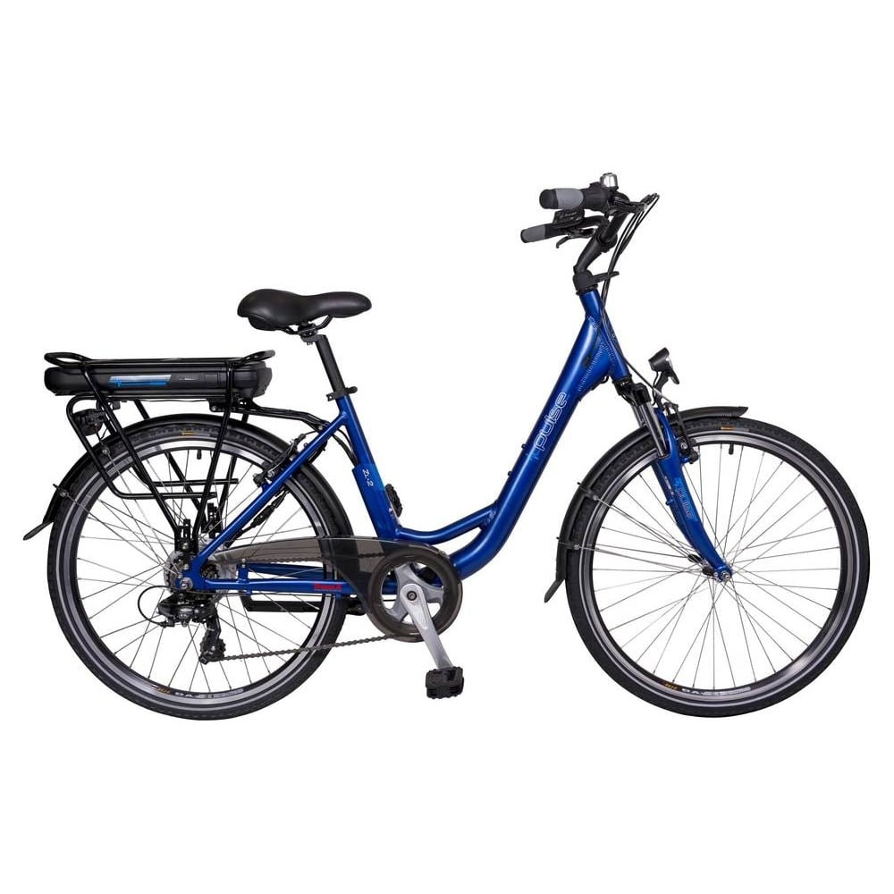 Pulse ZL2 electric bike with step through frame and TranzX