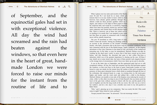 IBooks App Review; Apple IPad IBookstore Review