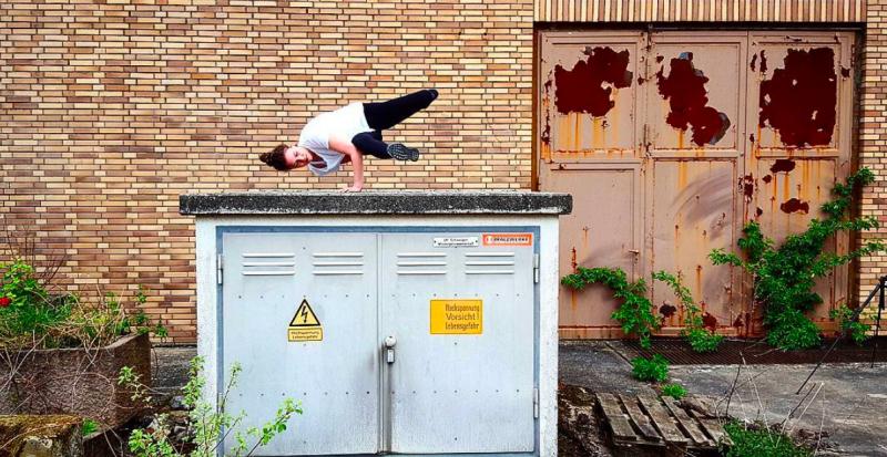 Tänzer - Foto by Marius Braun