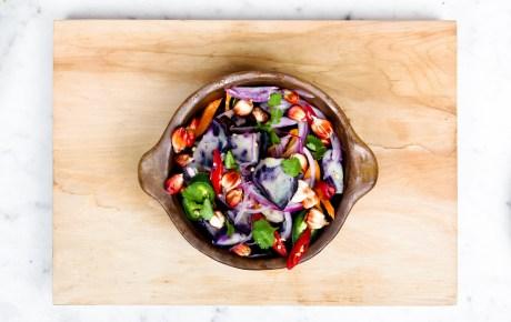 Salat statt Fast Food kann auch glücklich machen