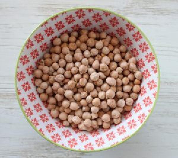 Kichererbsen für selbstemachte vegane Falafelbällchen