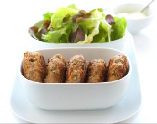 Protein-Gemüsetaler - vegane Bratlinge