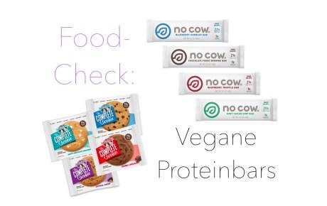 Vegane Proteinbars von No Cow