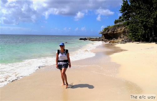 Strandspaziergang deluxe - fünf Strände laden beim Sainte-Luce zum Baden auf Martinique ein