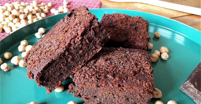 Unsere veganen Schokoladen-Brownies sind zudem glutenfrei, zuckerfrei und extrem lecker