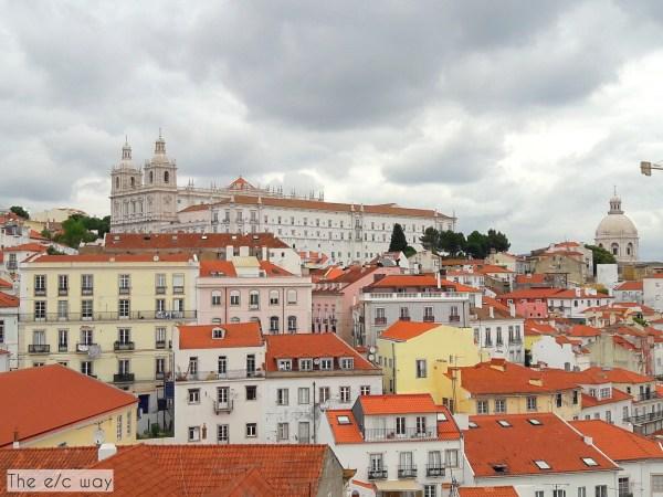 Lissabon ist auch bei gedecktem Himmel schön
