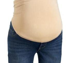 Maternity Jeans with Belly Panel