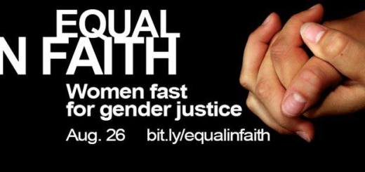 Equal in faith: Women fast for gender justice Aug. 26.