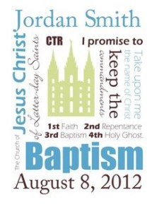 pinterest baptism program
