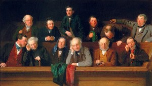 Gentlemen of the Jury by John Morgan, 1861