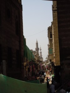 The Kahn, or ancient marketplace in Cairo.