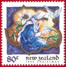 NZ postage stamp