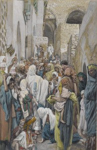 The Woman with an Issue of Blood by James Tissot