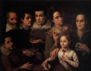 Family Portrait by Lavinia Fontana