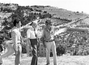 Howard W. Hunter at the Orson Hyde Memorial Garden in Jerusalem, 1979