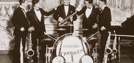 Hunter's Croonaders, 1927
