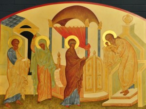 Presentation of Christ in the Temple, St. Symeon and Prophetess Anna