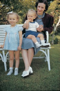 Marjorie Pay Hinckley and children