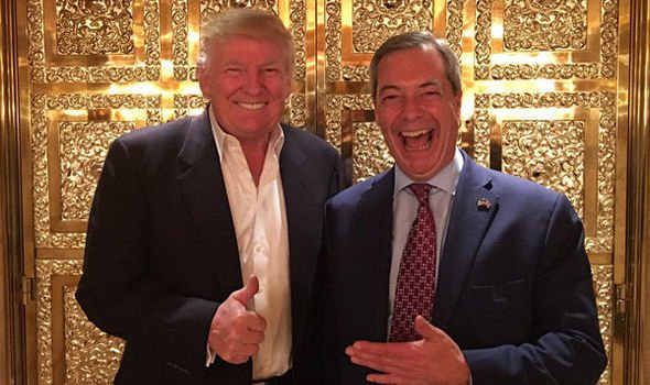 Liberace and his thumb and Nigel Farage share locker room talk.