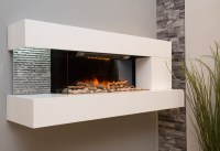 Wall Mounted Electric Fires - The Fireplace Studio