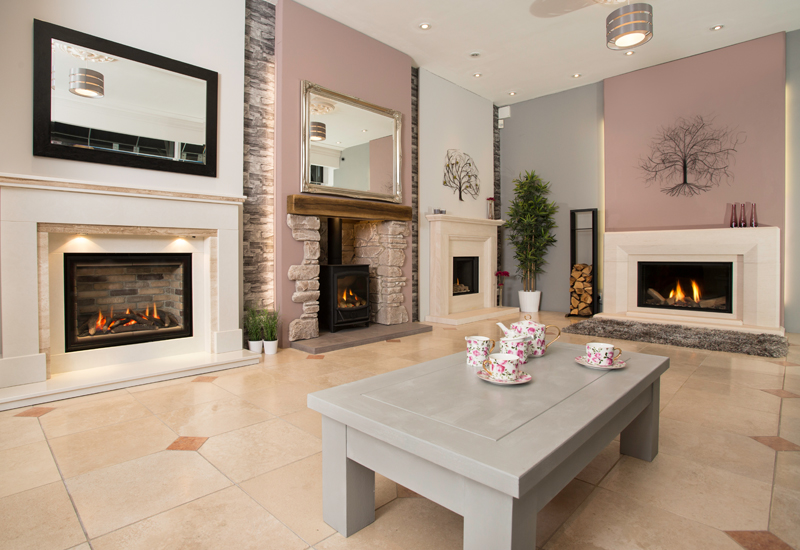 Fire  Fireplace Showroom in Bramcote  The Fireplace Studio