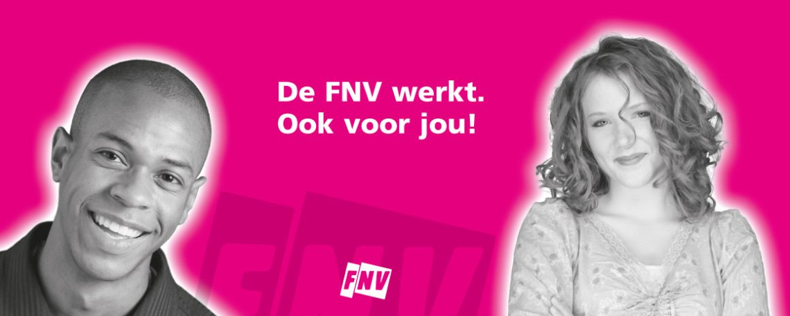 FNV spandoek