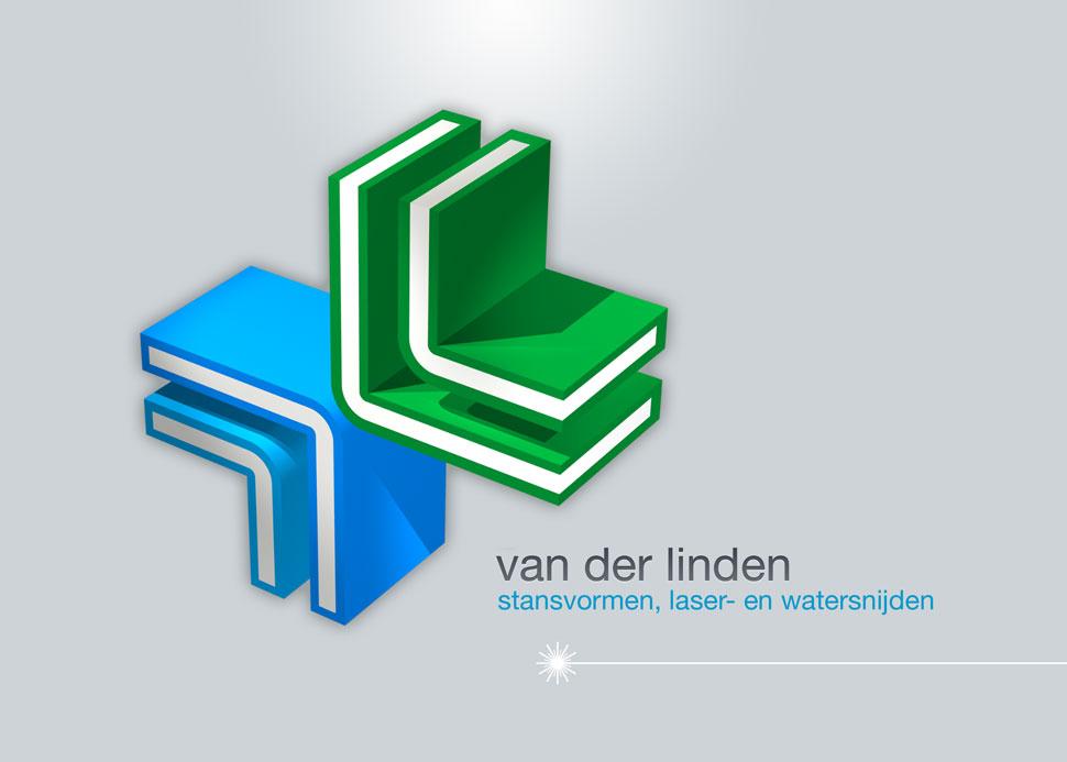 van der linden logo ontwerp