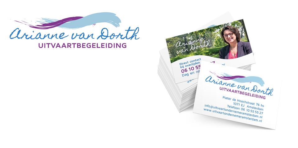 Arianne van Dorth visitekaartje