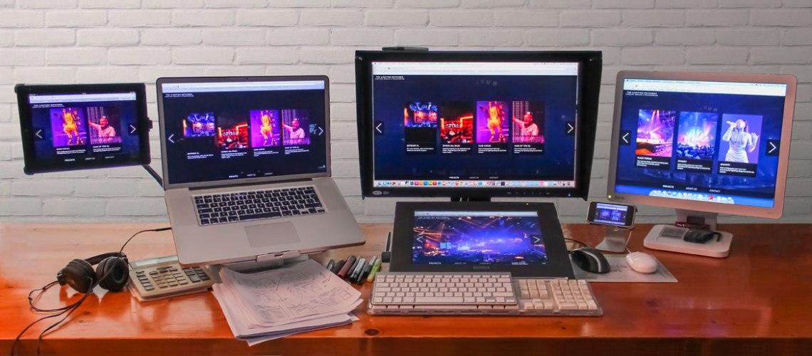 The Lichting Dutchmen responsive webdesign