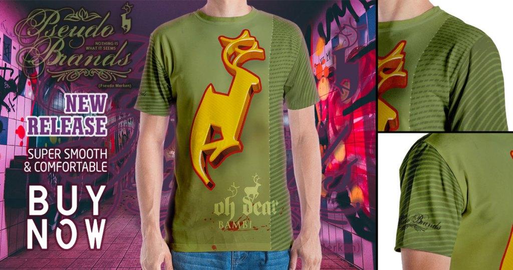 Pseudo Brands - Oh Dear T-shirt