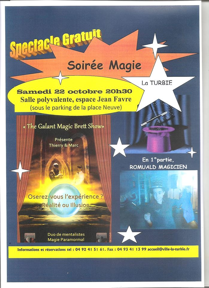 Spectacle Magie Mentalisme