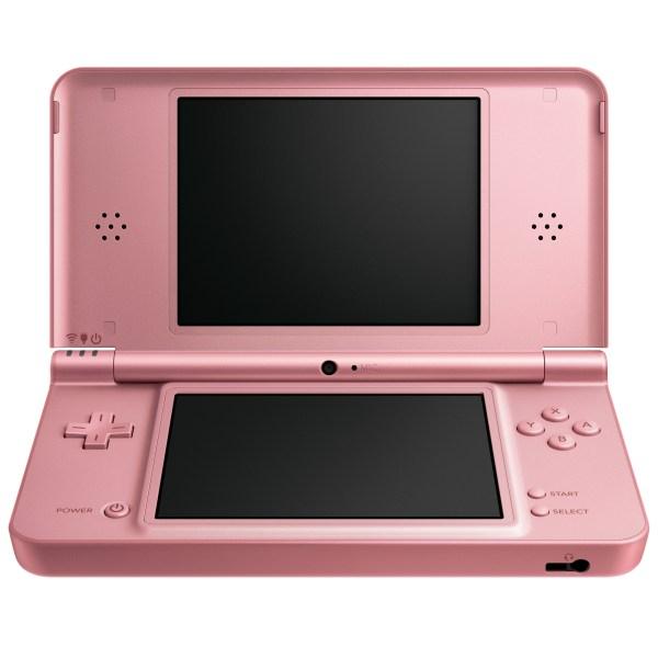 Nintendo 3ds 260 Percent. Pink Dsi Xl Inbound