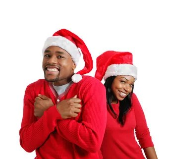 Christmas couple © Dennis Owusu-ansah | Dreamstime.com