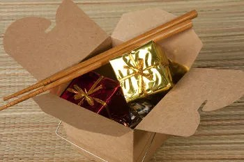 Take-out gift © Janks | Dreamstime.com