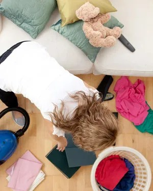 Too much housework © Wavebreakmedia Ltd   Dreamstime.com