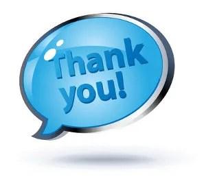 A big thank you © Doffdog | Dreamstime.com