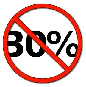 The 30% lie © Paul H. Byerly